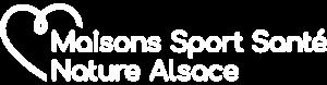 logo maison sport santé nature alsace blanc
